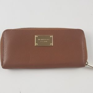 Michael Kores brown wallet